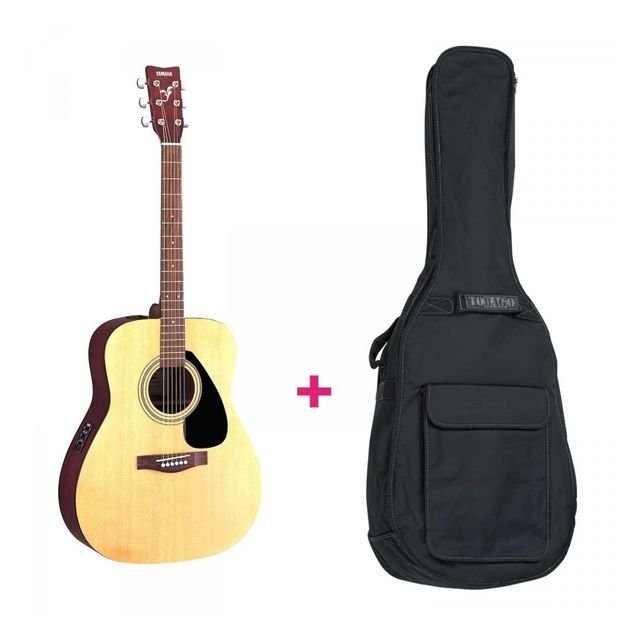 Yamaha Pack Fx310A - Guitare électro-acoustique + housse pack Comprenant une guitare acoustique yamaha électro Fx310 et une housse adaptée.
