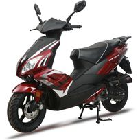 Scooter F22 50cc 4T rouge