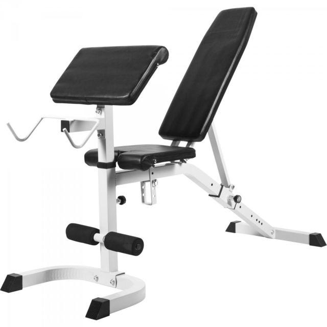Gorilla Sports Banc De Musculation Réglable Inclinédécliné Avec