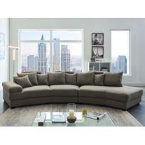 canape demi lune achat canape demi lune pas cher rue. Black Bedroom Furniture Sets. Home Design Ideas