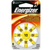 Energizer - Ez Turn & Lock 10 - Distributeur de 8 Piles auditives