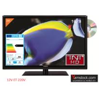 Antarion - Télévision Tv + Dvd Led 24 Hd 12V /220V camping car