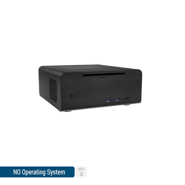 SEDATECH Mini-PC, Intel i3, 120 Go SSD, 1 To HDD, 8Go RAM, sans OS. Ref: UCM6542I3C