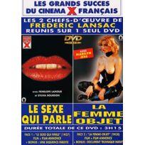 Blue One - Le Sexe qui Parle - La Femme Objet 2 Films