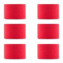 CAPITAL SPORTS - Bondies Kinesiologie Tape 6 rouleaux de 5m -rouge