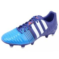 purchase cheap 0b491 ca3dd Adidas - NITROCHARGE 3.0 SG BLU - Chaussures Football Homme Multicouleur 40  2 3