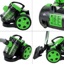 Rocambolesk - Superbe Aspirateur sans sac- max.1000 Watt - Vert édition - vert neuf