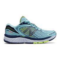 best service 724f0 0be2f New Balance - Chaussures 860 v7 blanc bleu femme