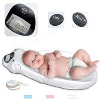 Storaddict - Balance Éléctrique pour Bébé, Blanc