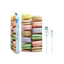 I-PAINT - Powerbank micro USB 3000 mAh - Macarons