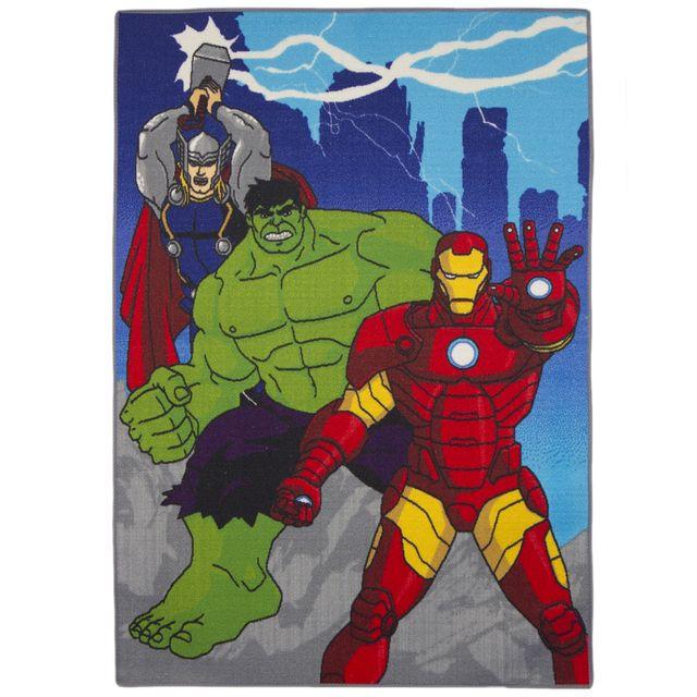 Bebe Gavroche Tapis Avengers Power Marvel Pas Cher Achat Vente