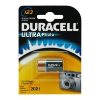 Duracell - pile type cr123 3 volts - 10581