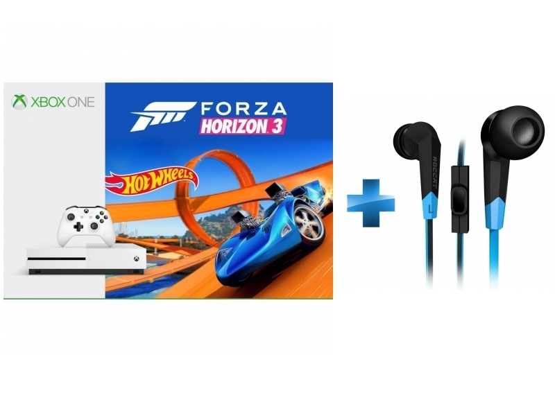 Pack Xbox One S 500Go Forza Horizon 3 + Hot Wheels + Syva
