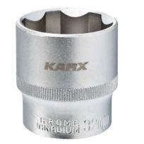 Karx - Douille 6 pans 1/2 Cr-V 32 mm