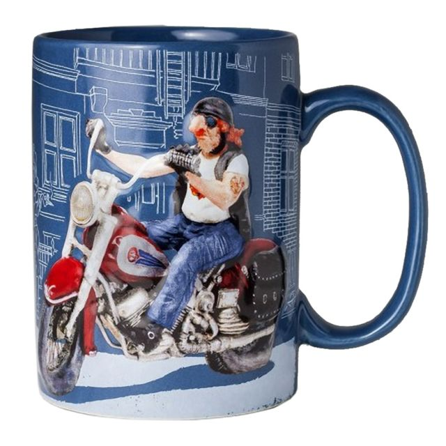 Avenue Of The Stars Grande Tasse de Collection Guillermo Forchino - Le Biker