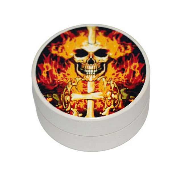 Smoke Pas Cher Grinder 2 parts diam 45 - Skull