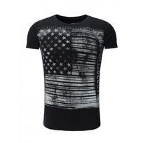 Trueprodigy - Tee shirt Noir Usa 117 Noir