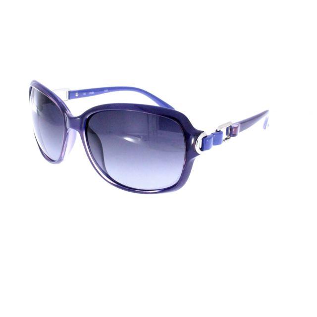 Polaroid - 8211 C Blue - Lunettes de soleil femme - pas cher Achat   Vente  Lunettes Tendance - RueDuCommerce f7585a93815a