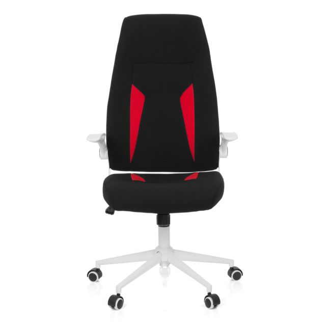 Glorius Tissu De Bureau Chaise Fauteuil Office Noir Hjh Gaming LRA3q4j5