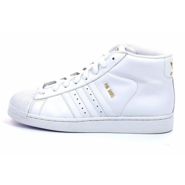 Pro Adidas Pas Originals Cher G49851 Achat Basket Blanc Model 7wwrHq