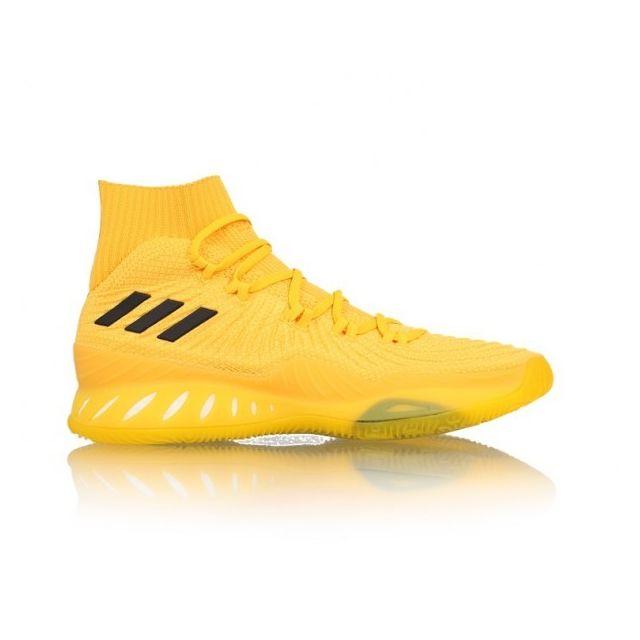 finest selection 007cb 73abb Adidas - Chaussure de Basketball Crazy Explosive Primeknit 2017 jaune pour  homme Pointure - 40 - pas cher Achat   Vente Chaussures basket -  RueDuCommerce