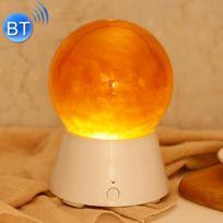 Wewoo - Veilleuse Led Creative Saturn Planète Conception Magic Music Basse Sound Box Bluetooth V2.1 + Edr Haut-Parleur Atmosphère Nuit Lampe Nouveauté Cadeaux