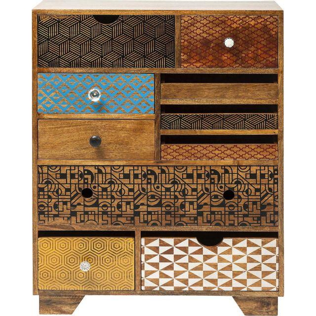 Karedesign Commode Soleil 10 tiroirs Kare Design