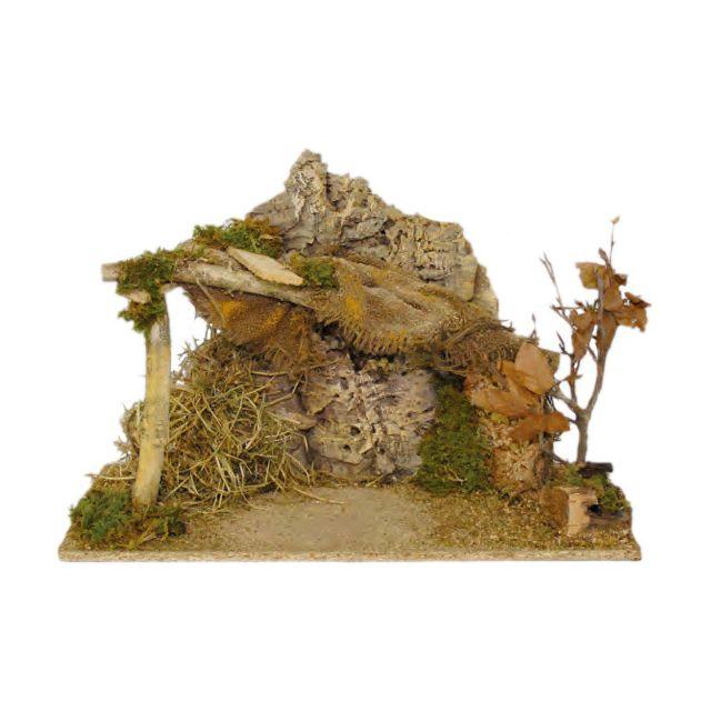 Eminza   Crèche de Noël vide Saint Alexandre   pas cher Achat