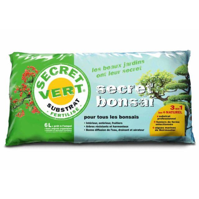 SECRET VERT Terreau pour bonsaïs 3kg