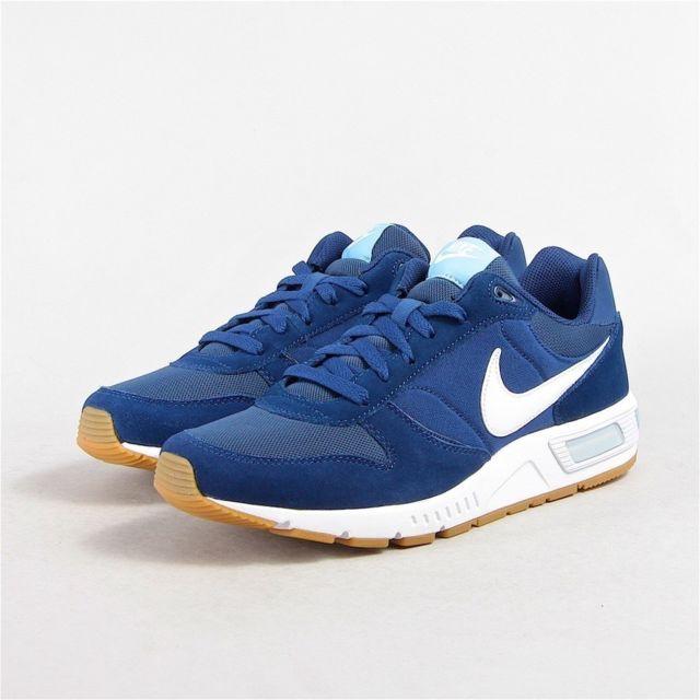online retailer f50e7 32c0b Nike - Chaussure Nightgazer Bleu Blanc