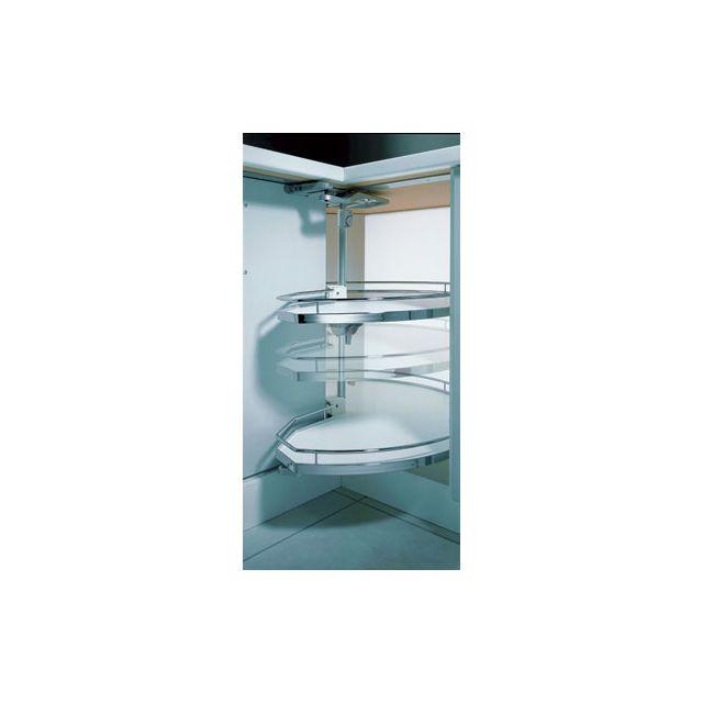 kessebohmer set tourniquet plateau tournant revo 90 degres pour meuble d 39 angle de cuisine. Black Bedroom Furniture Sets. Home Design Ideas