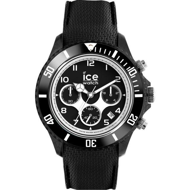 6108addf6efc9 Ice-Watch - Montre Ice Dune 48mm en Silicone Noir Achat / Vente Montre N/A  pas chère - RueDuCommerce