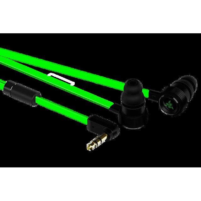 RAZER Hammerhead V2 Le Razer Hammerhead a été entièrement revu avec un tout nouveau design et des câbles plats pour augmenter la mobilité du joueur qui est en vous.
