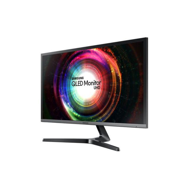 "Samsung U28H750 28"" - 1ms - 4K Ecran Samsung U28H750, 71,12 cm (28 Pouces), 4K/UHD, FreeSync - DP, HDMI"