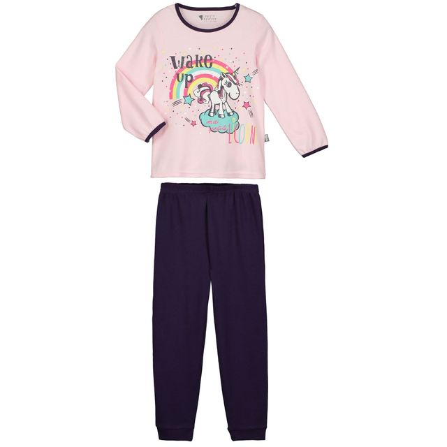soldes petit beguin pyjama fille manches longues petite licorne taille 2 3 ans 92 98 cm. Black Bedroom Furniture Sets. Home Design Ideas