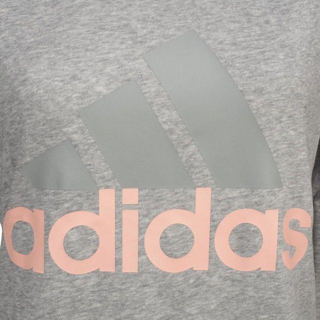 Adidas Sweat Ess lin crew sweat lgm l Gris 46588 pas
