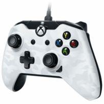 Manette filaire Xbox One Blanche Camo