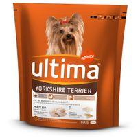 Ultima - Croquettes Yorkshire Terrier au Poulet pour Chien - 800g