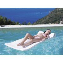 Kerlis - Matelas piscine Américain Blanc