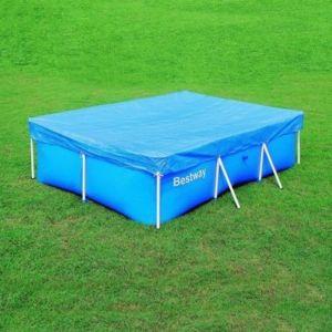 best way b che bestway pour piscine tubulaire 259 x 170 cm pas cher achat vente couverture. Black Bedroom Furniture Sets. Home Design Ideas