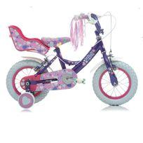 "Raleigh - Vélo Fille Krush 12"" Torpédo Mauve 2017"