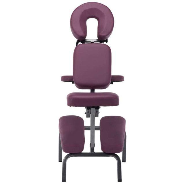 Icaverne - Fauteuils de massage serie Fauteuil de massage Similicuir Bordeaux rouge 122x81x48 cm