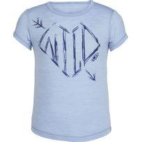 Icebreaker - Spheria Wild Arrow - T-shirt manches courtes - bleu