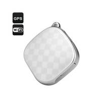 Auto-hightech - Traceur Gps Localisateur Pendentif Gsm WiFi Lbs Sos Audio Blanc