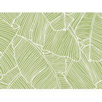 Graham & Brown - Papier peint vinyle grainé intissé motif bananier 10.05x0.52m Bananier