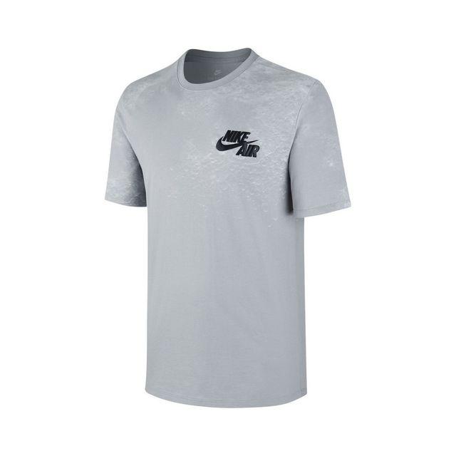08d85dd8f4744 Nike - Tee-shirt Sportswear Lunar - 847595-012 Gris - pas cher Achat   Vente  Tee shirt homme - RueDuCommerce