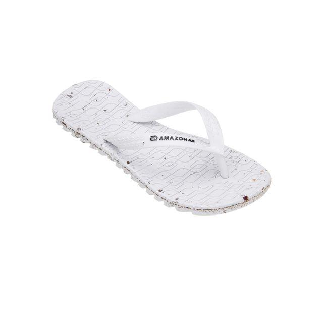 Amazonas - Tongs Garçon Eco Flip-Flop Blanc Noir - pas cher Achat   Vente  Sandales et tongs femme - RueDuCommerce f3ec8789996d