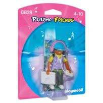 Playmobil - 6828-Adolescente avec Ordinateur - Friends