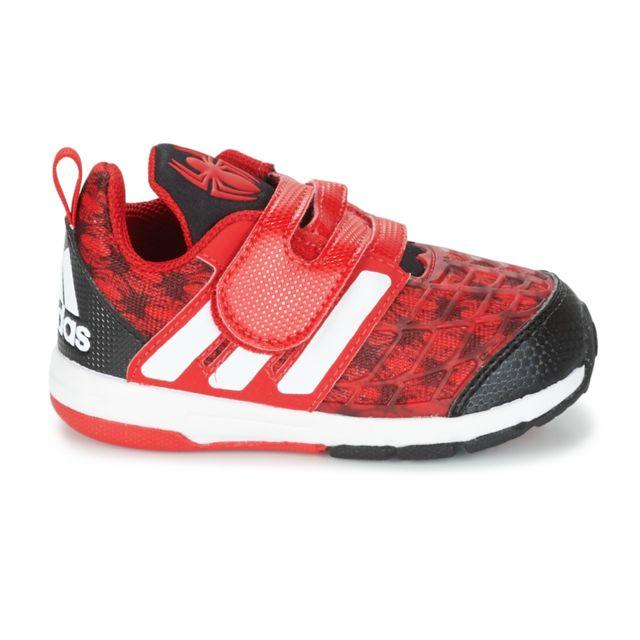 best service 5039b 66d0d Adidas - Marvel Spider-Man Chaussure Bébé Garçon - Taille 24 - Multicolore  - pas cher Achat  Vente Baskets enfant - RueDuCommerce
