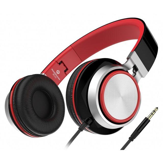 alpexe casque st r o nouvelle g n ration casque audio supra auriculaires anti bruit l ger. Black Bedroom Furniture Sets. Home Design Ideas